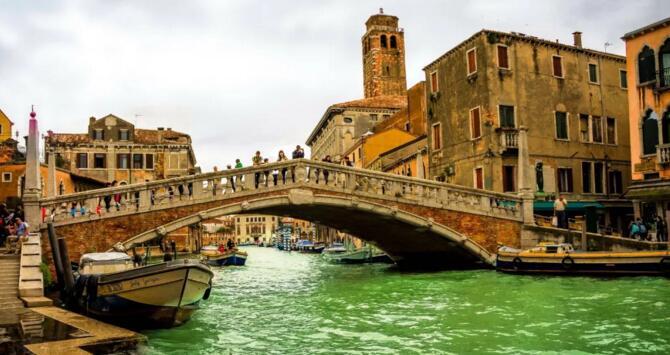 威尼斯古城旅游胜地 与水为伍的浪漫情怀