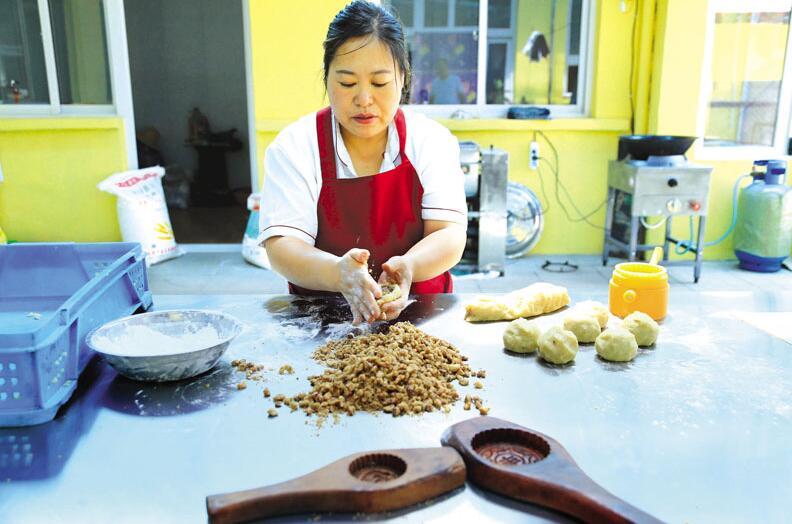 阳泉特产小吃土炉月饼 手工制作原滋原味十里飘香