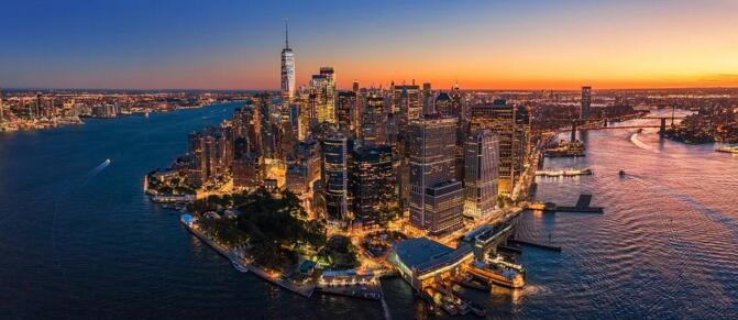 来纽约,不能错过南街海港、华尔街、帝国大厦、联合国大楼