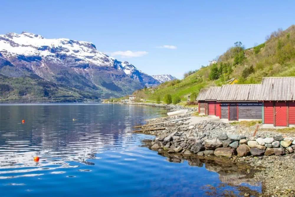 挪威峡湾旅游,北极光仙境般的景色